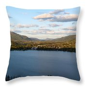Coldstream Valley In Spring Throw Pillow