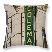 Coleman Throw Pillow