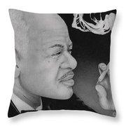 Coleman Hawkins Throw Pillow