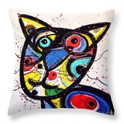 Colin Throw Pillow by Chris Mackie