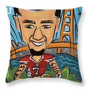 Colin Kaepernick - Achievement Throw Pillow