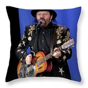 Colin Linden Of Blackie And The Rodeo Kings Throw Pillow