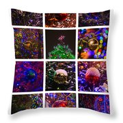 Collage December - Featured 2 Throw Pillow