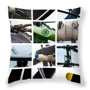 Collage Propeller - Featured 2 Throw Pillow