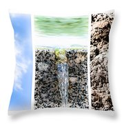 Collage The Fifth Element Throw Pillow
