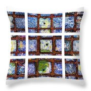 Collage The Theory Of Black Holes Throw Pillow