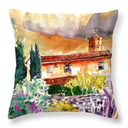 Colle D Val D Elsa In Italy 03 Throw Pillow