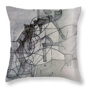 Collecting Thought 4 Throw Pillow