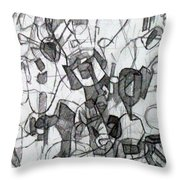 Collecting Thought 6 Throw Pillow