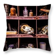 Collection At Techatticup Gold Mine Throw Pillow