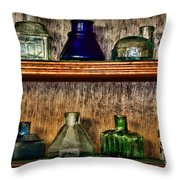 Collection - Ink Wells 1 Throw Pillow