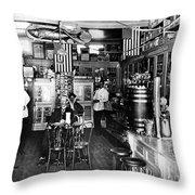 Collins Pharmacy, 1914 Throw Pillow