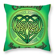 Collins Soul Of Ireland Throw Pillow