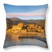 Collioure Dawn Throw Pillow