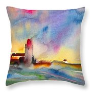 Collioure Impression 01 Throw Pillow