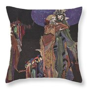 Colloquy Of Monos And Una Throw Pillow