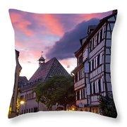 Colmar Twilight Throw Pillow