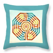 Cologne - Summer Throw Pillow