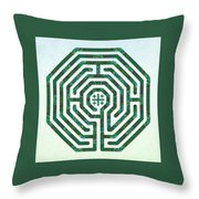 Cologne - Origami Paper Throw Pillow