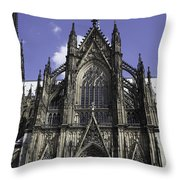 Cologne Cathedral 02 Throw Pillow