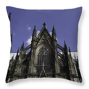 Cologne Cathedral 03 Throw Pillow