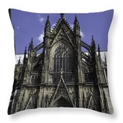Cologne Cathedral 04 Throw Pillow