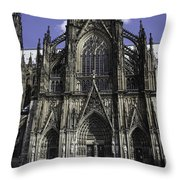 Cologne Cathedral 05 Throw Pillow
