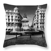 Colon Square Throw Pillow
