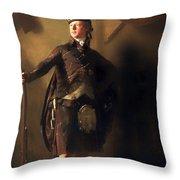 Colonel Macdonnel Of Glengarry Throw Pillow