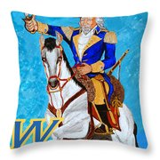 Colonel Pride Throw Pillow