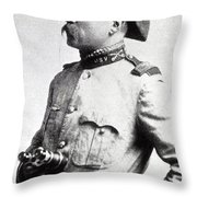 Colonel Theodore Roosevelt 1898 Throw Pillow
