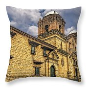Colonial Church Throw Pillow