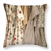 Colonial Closet Throw Pillow