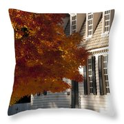 Colonial Color Throw Pillow