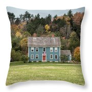 Colonial Home Throw Pillow