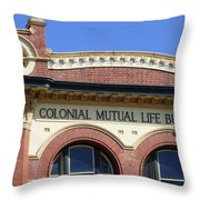 Colonial Mutual Windows - 3 Throw Pillow