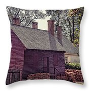 Colonial Williamsburg Throw Pillow