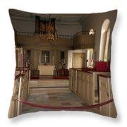 Colonial Williamsburg Church  Throw Pillow