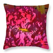 Color 128 Throw Pillow