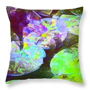 Color 135 Throw Pillow