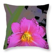 Color 139 Throw Pillow