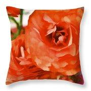 Color 141 Throw Pillow