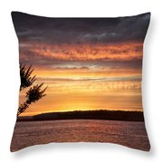 Color At Last Light Throw Pillow