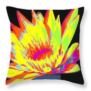 Color Blasted Throw Pillow