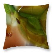 Color Chaotic Throw Pillow