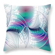 Color Elegance Throw Pillow