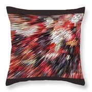 Color Explosion #02 Throw Pillow