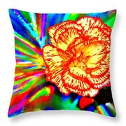 Color Extreme Throw Pillow
