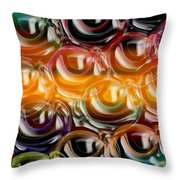 Color Frenzy 2 Throw Pillow