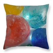 Color In Ice Series 15 Throw Pillow